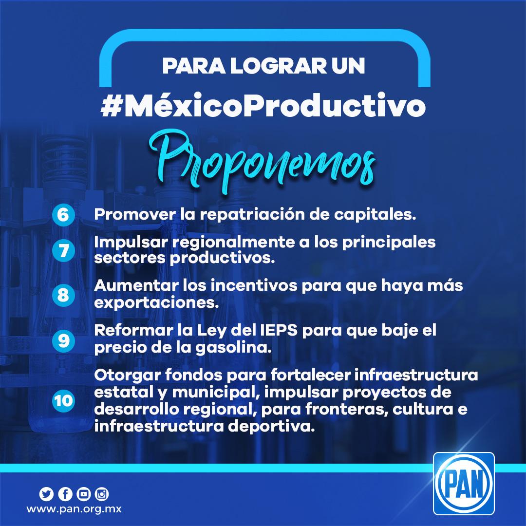 5.- México Productivo